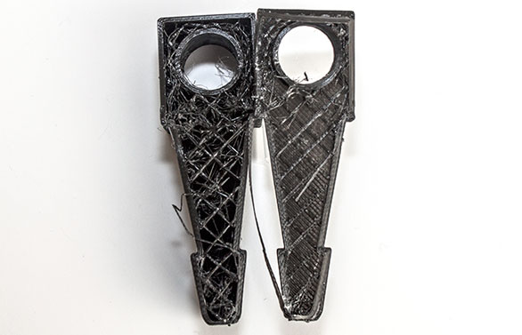 Additive rapid prototyping using 3D printing can be fast, but less functional in terms of product or market testing due to both aesthetics and their non-solid composition.