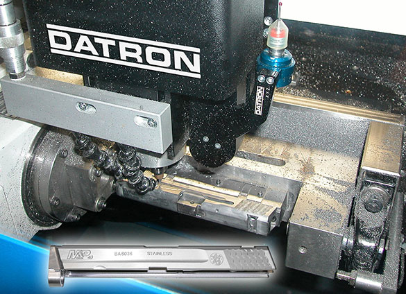 """Serial number engraving on firearms according to ATF mandates requires .005"""" depth of engraving as well as proper documentation of parts produced."""