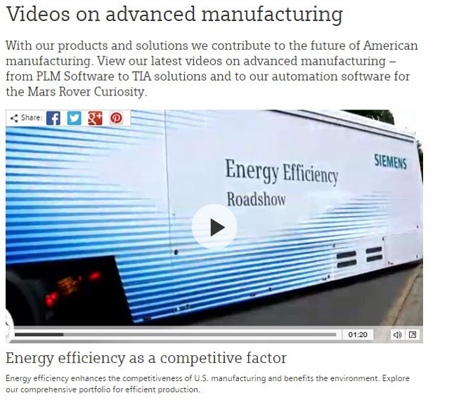 Energy efficient CNC machining as well as manufacturing solutions detailed in this Seimens video are ways to reduce costs and energy consumption.