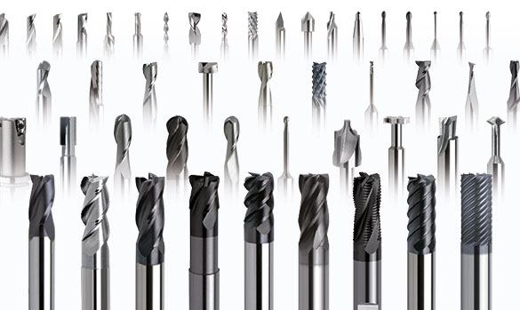 Vacuum table tool selection is made based on the required cut but the smaller the better because smaller tools reduce cutting force.