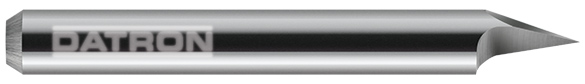 DATRON engraving tools are made in Germany using the finest grade of micrograin carbide.