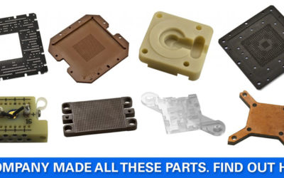 Machining Engineered Plastics and Composites for Electronics