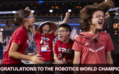 Robotics Team World Champions Thank DATRON