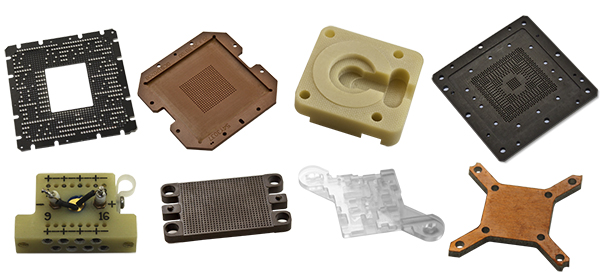 PCB and plastic parts