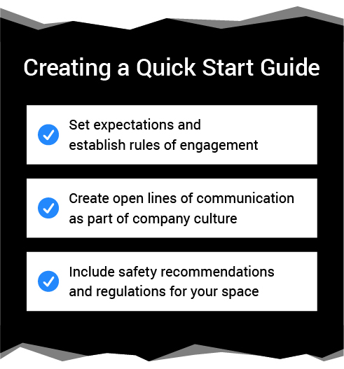 Creating a Quick Start Guide for Your First Prototyping Lab