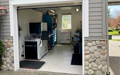 Turning a Garage Into a Factory: Manufacturing RF Waveguides at Home