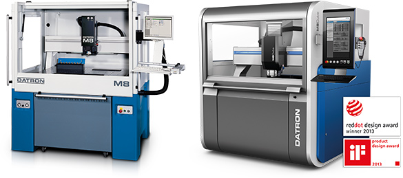 DATRON M8 vs the next-generation M8Cube high speed milling machine