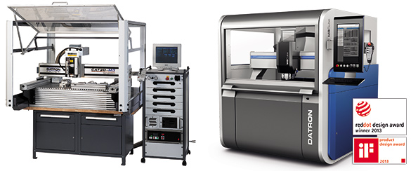 DATRON CNC machine tools for high speed milling - then and now.