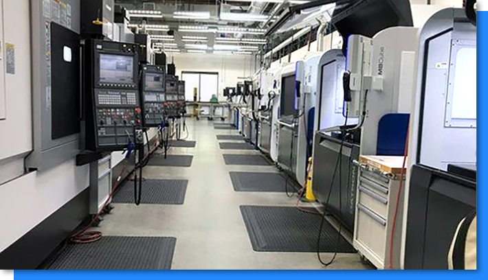 Microsoft high-speed CNC machining center