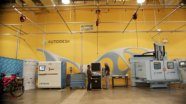 DATRON and Autodesk have collaborated on many occasions including the Generative Design Lab at MxD in Chicago.