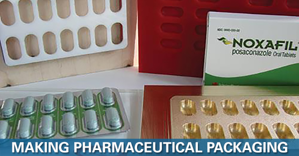 Thermoform molds are used to produce blister pack and product insert trays.